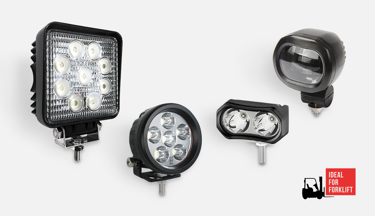 Product Focus - Forklift and Specialist Vehicle Work Lamps
