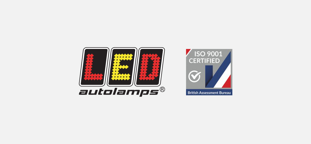 LED Autolamps' ISO9001:2015 Quality Accreditation