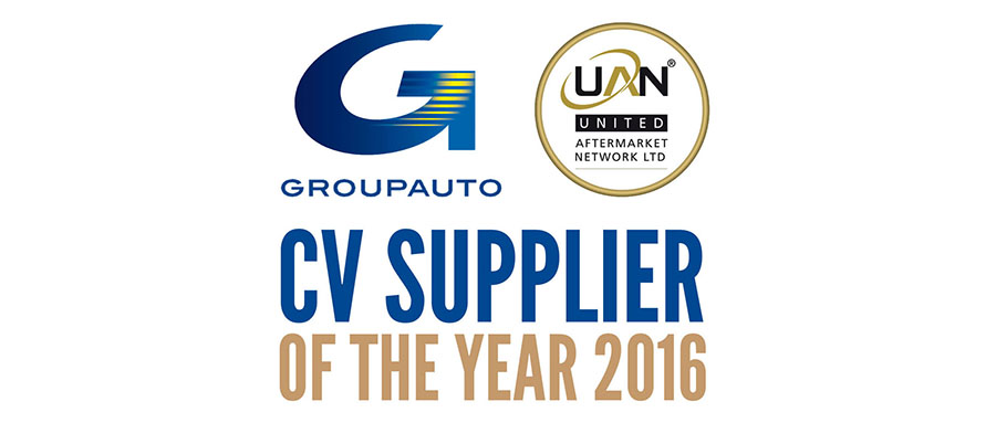 CV Supplier of the Year 2016