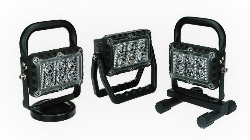 Introducing the Rechargeable Work Light Range