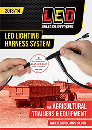 LED Lighting Harness System for Agricultural Trailers & Equipment